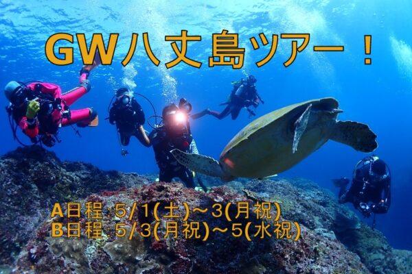 ゴールデンウィーク開催!|八丈島ダイビングツアーのご案内