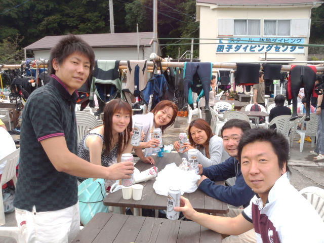 田子ダイビング&イカ祭り 2012/6/23(土)